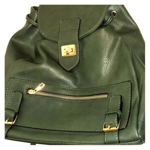 FASHION BRAND GREEN BACK PACK